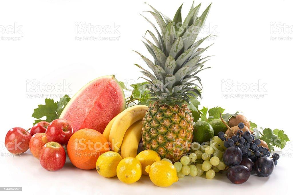 pile of fruits tele royalty-free stock photo