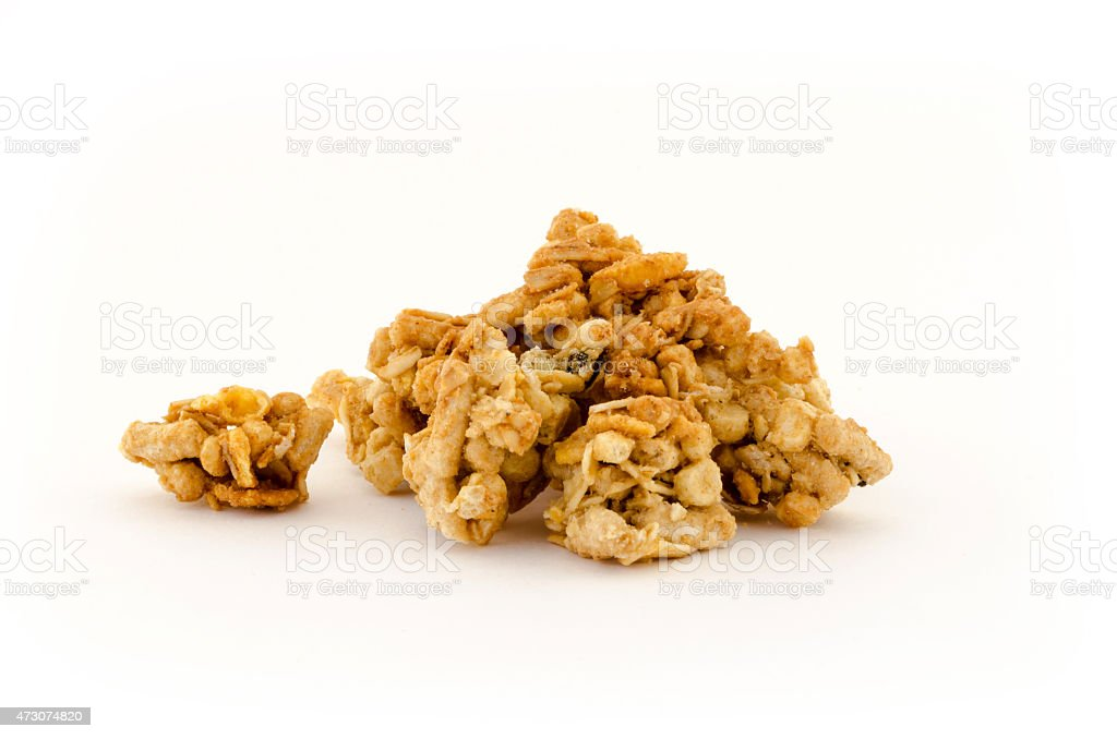 Pile of Granola stock photo