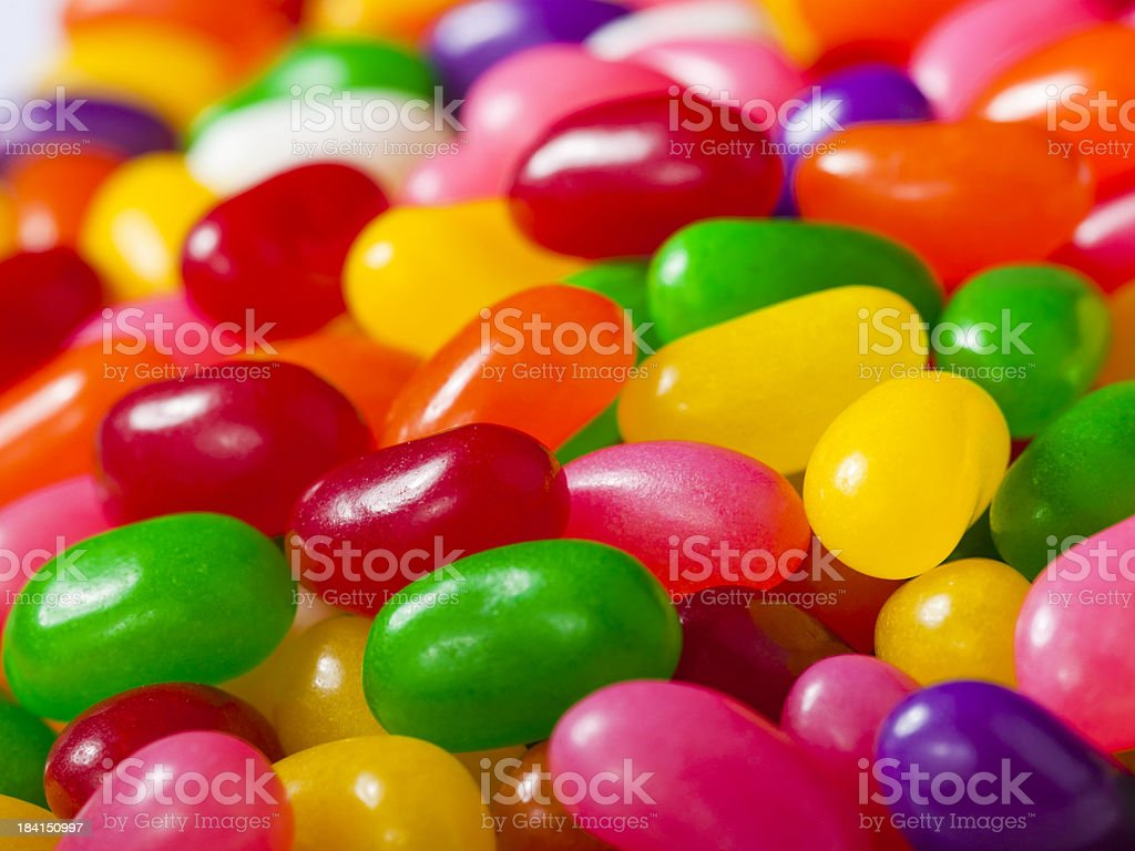Pile of jelly beans royalty-free stock photo