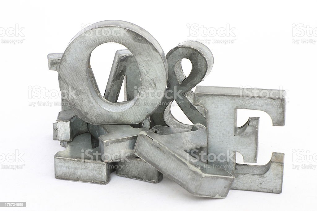 Pile of letters royalty-free stock photo