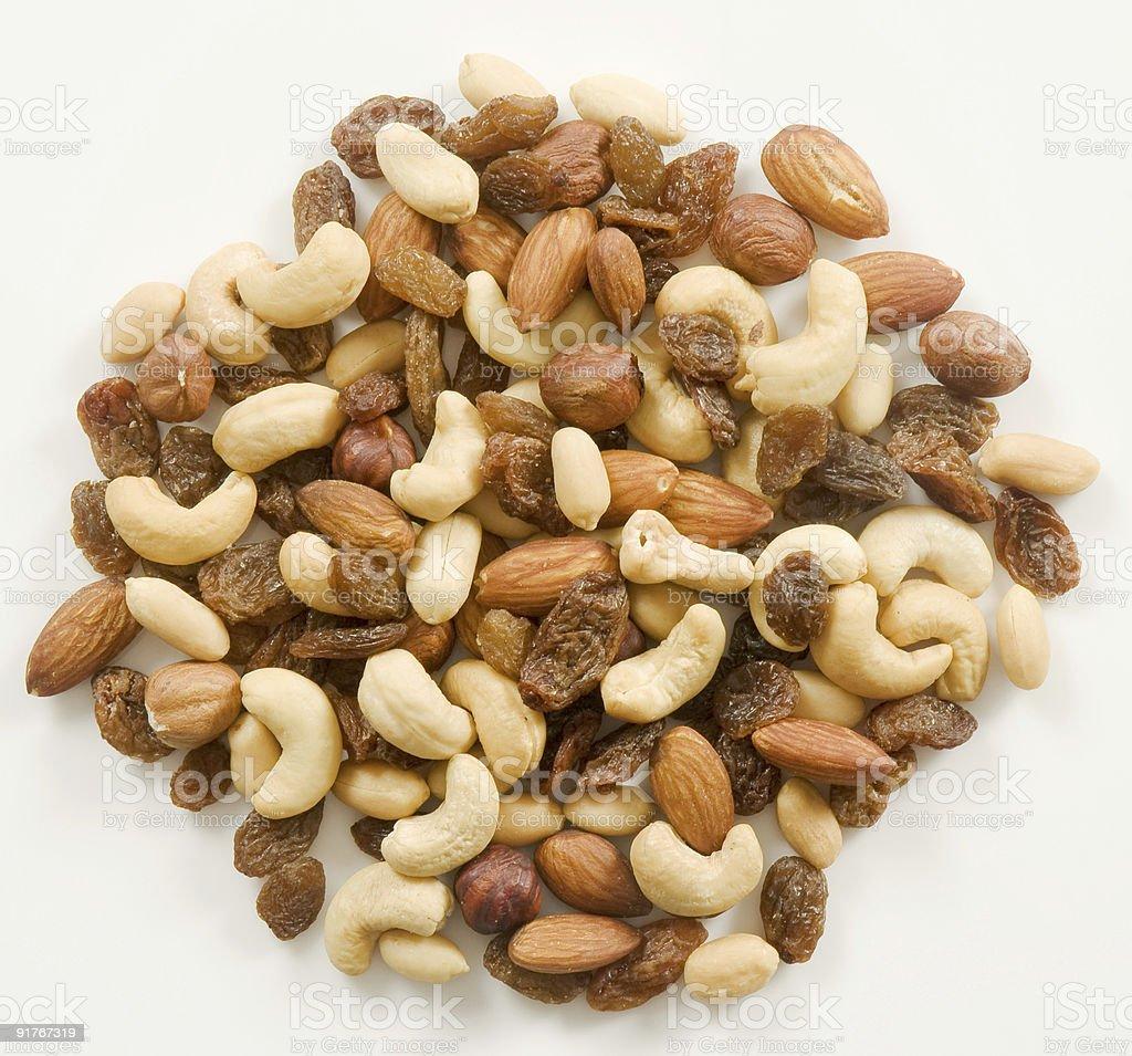 Сочетание орехи и Изюм Стоковые фото Стоковая фотография