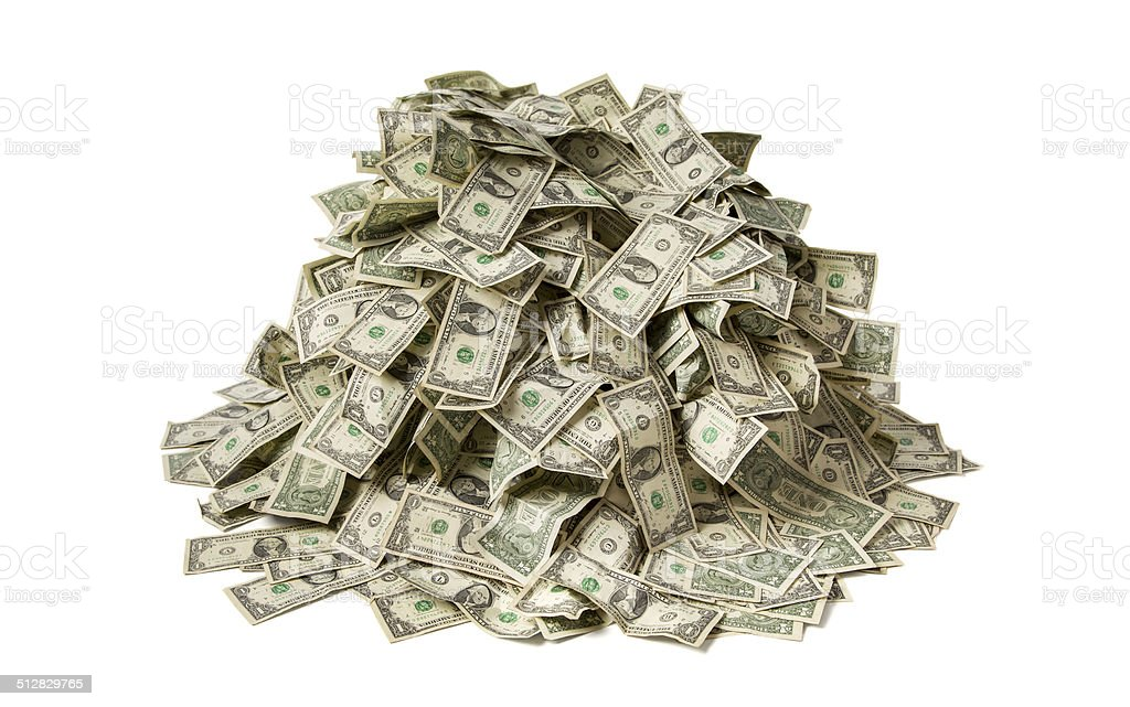 Pile Of Money stock photo 512829765 | iStock