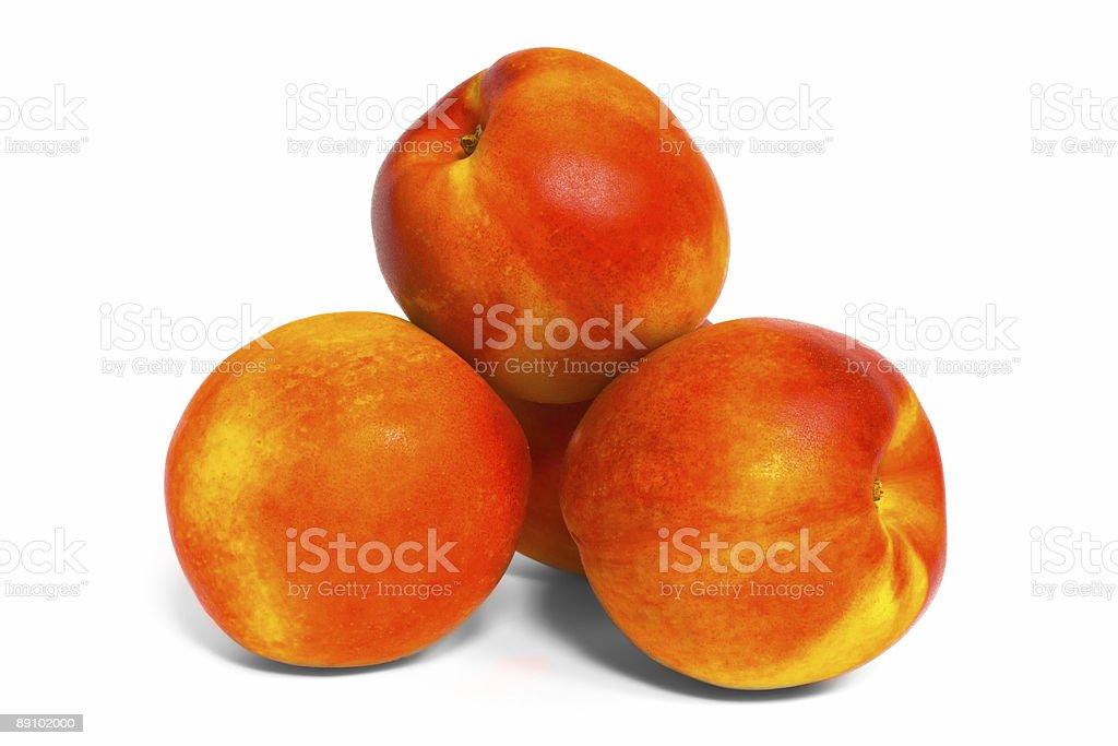 Pile of Nectarines royalty-free stock photo