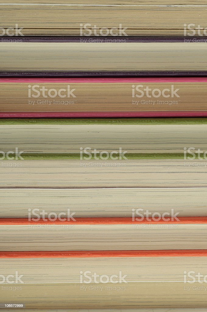 Pile of old books background royalty-free stock photo