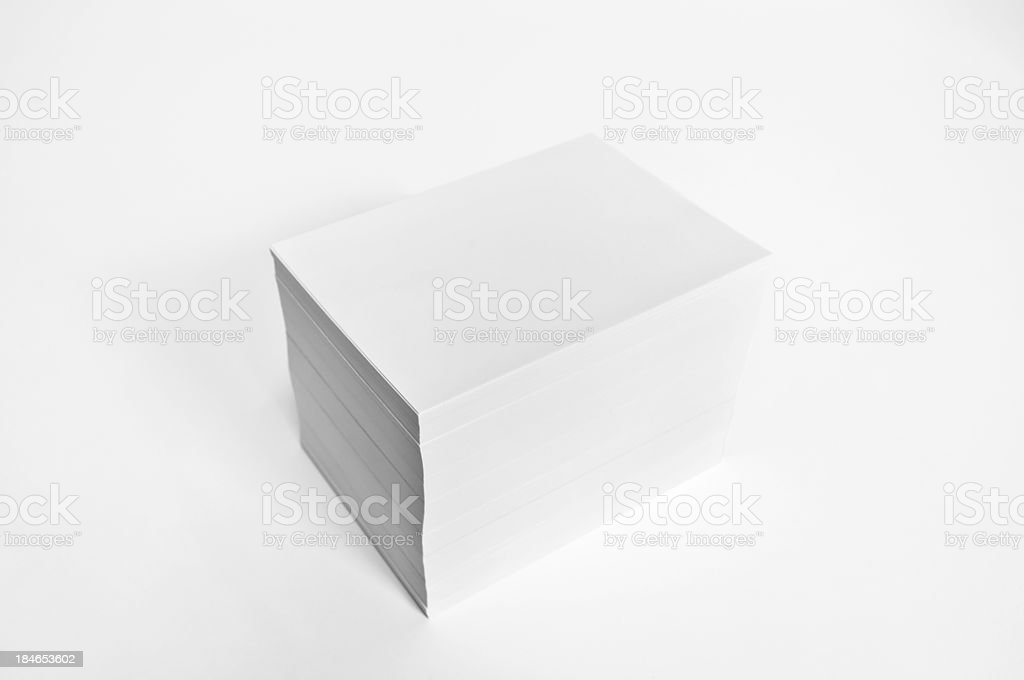 pile of paper stock photo
