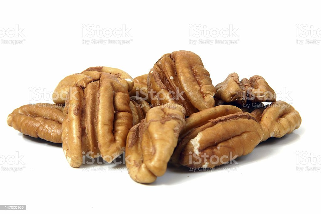 Pile of Pecans stock photo