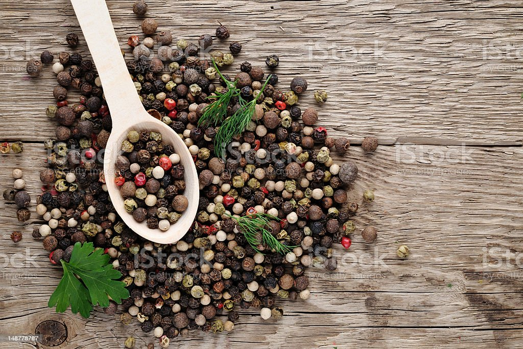 Pile of pepper royalty-free stock photo