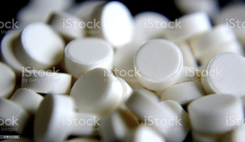 Pile of pills royalty-free stock photo