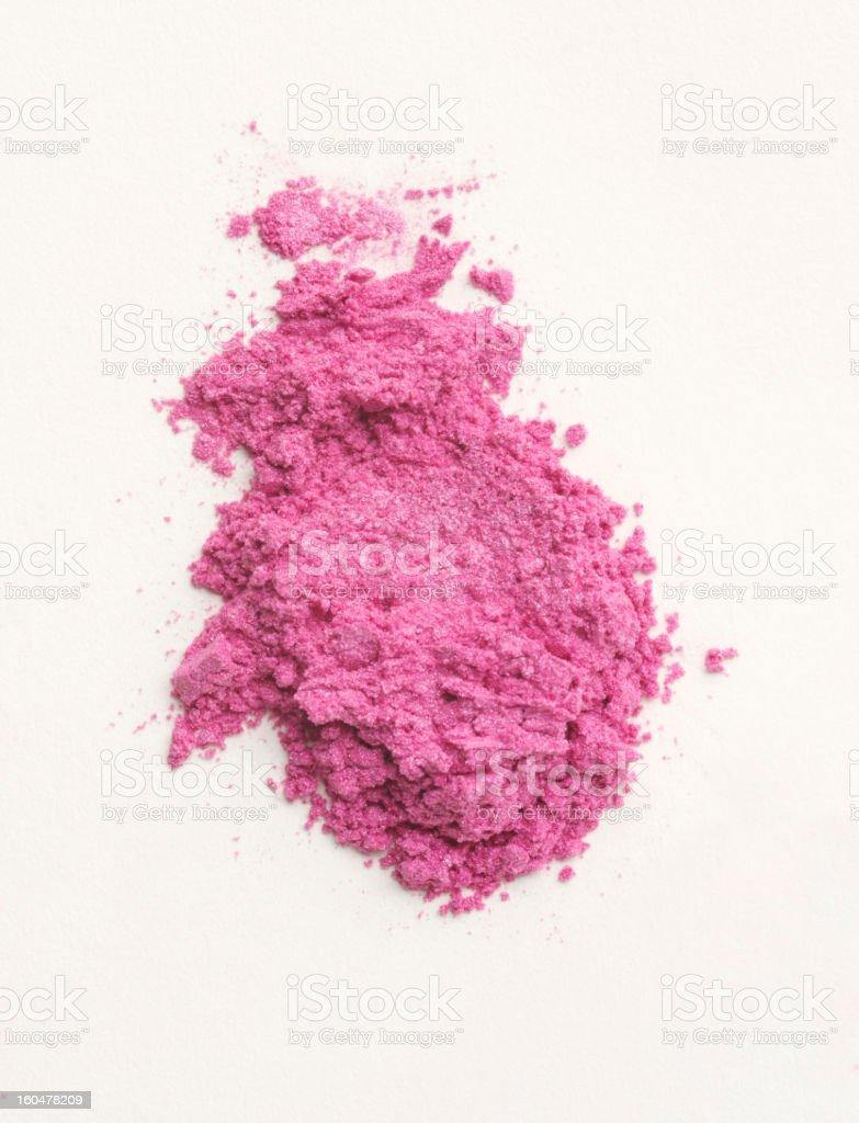 Pile of Pink Powder Makeup royalty-free stock photo