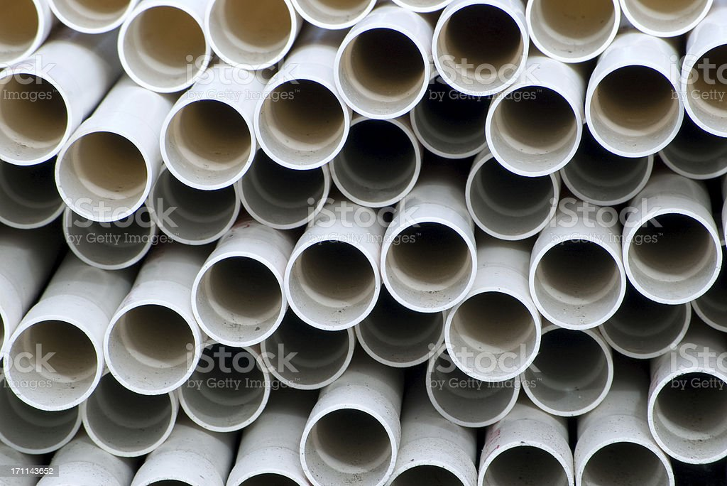 Pile of Pipes stock photo