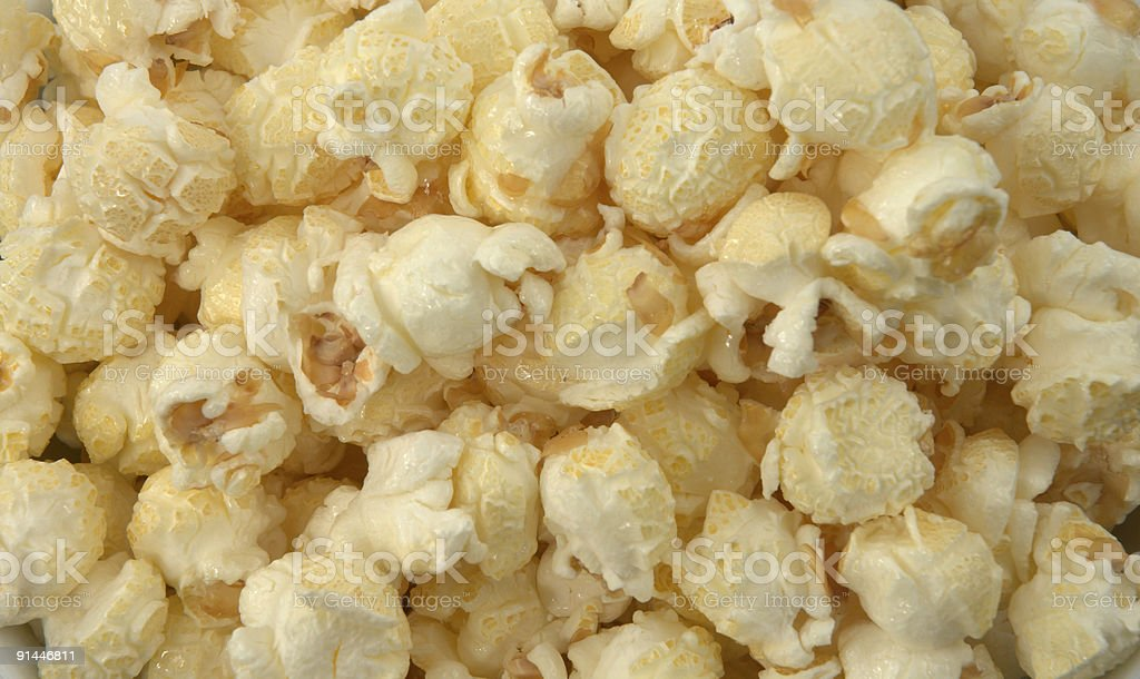 Pile of popcorn royalty-free stock photo