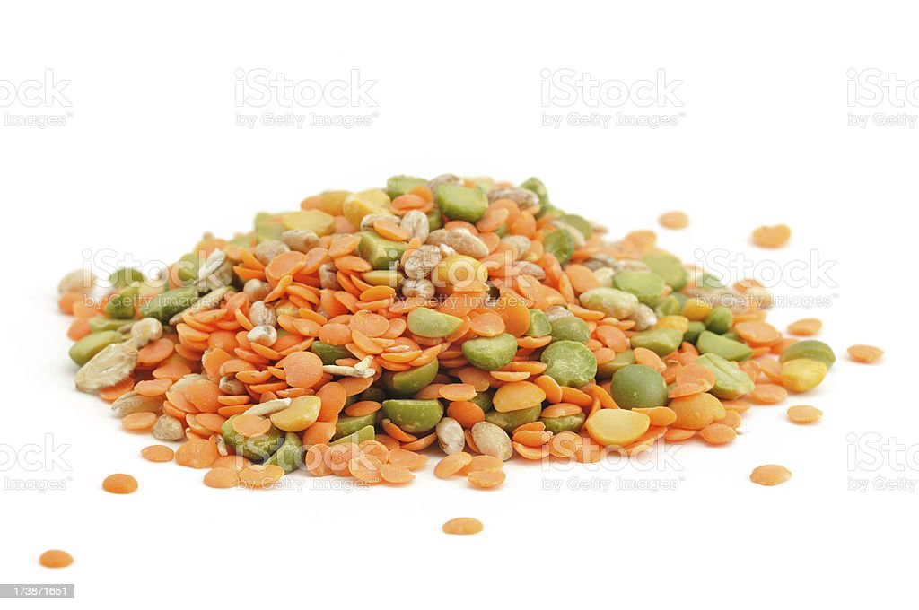 Pile of Pulses royalty-free stock photo