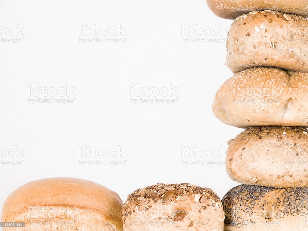 Pile of Roll royalty-free stock photo