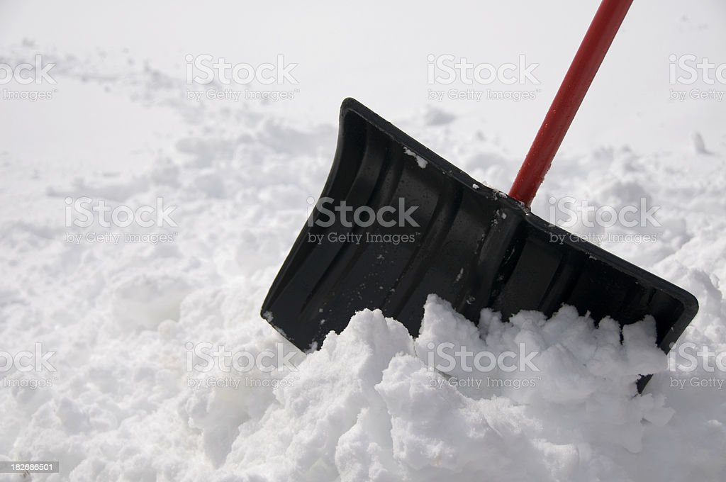 Pile of Snow royalty-free stock photo