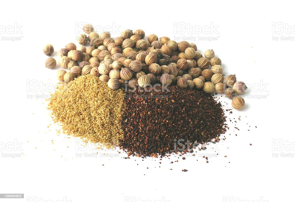 Pile of Spices royalty-free stock photo