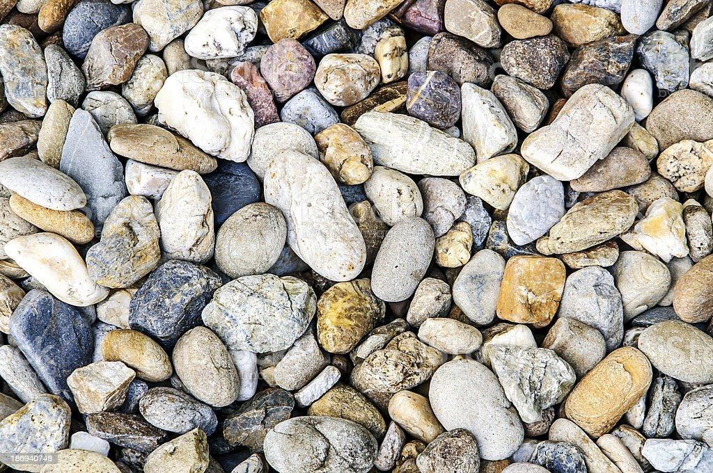 Pile of stones royalty-free stock photo