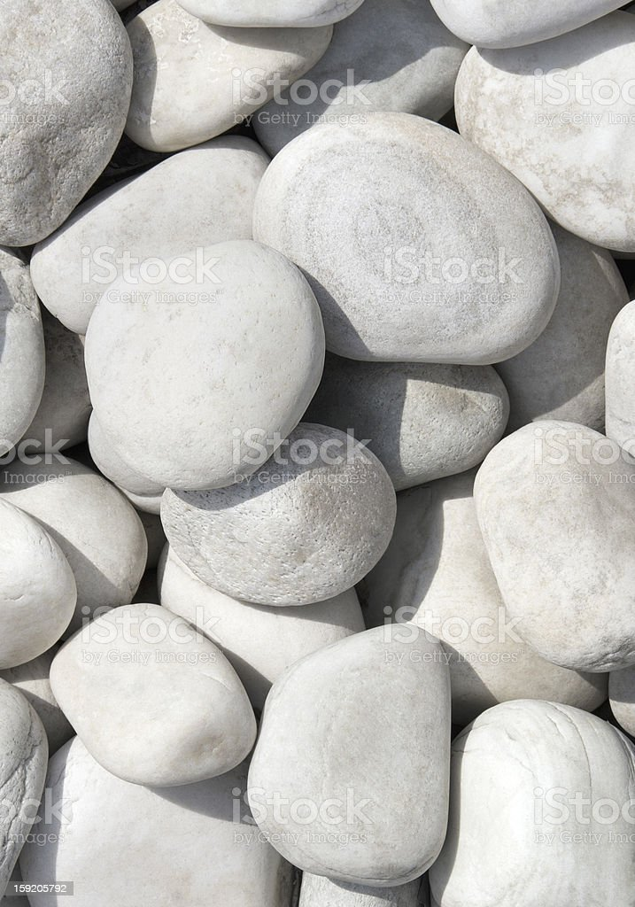 pile of white stones for background or texture royalty-free stock photo