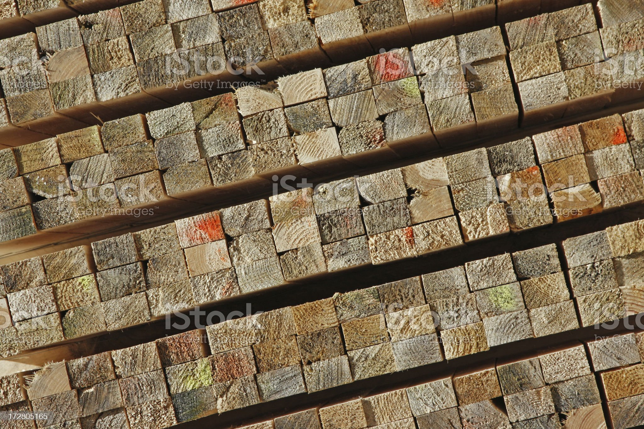 Pile of wood # 13 royalty-free stock photo