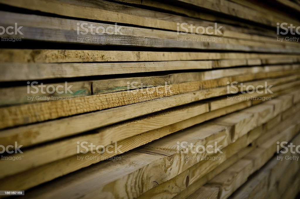 pile or stack of timber royalty-free stock photo
