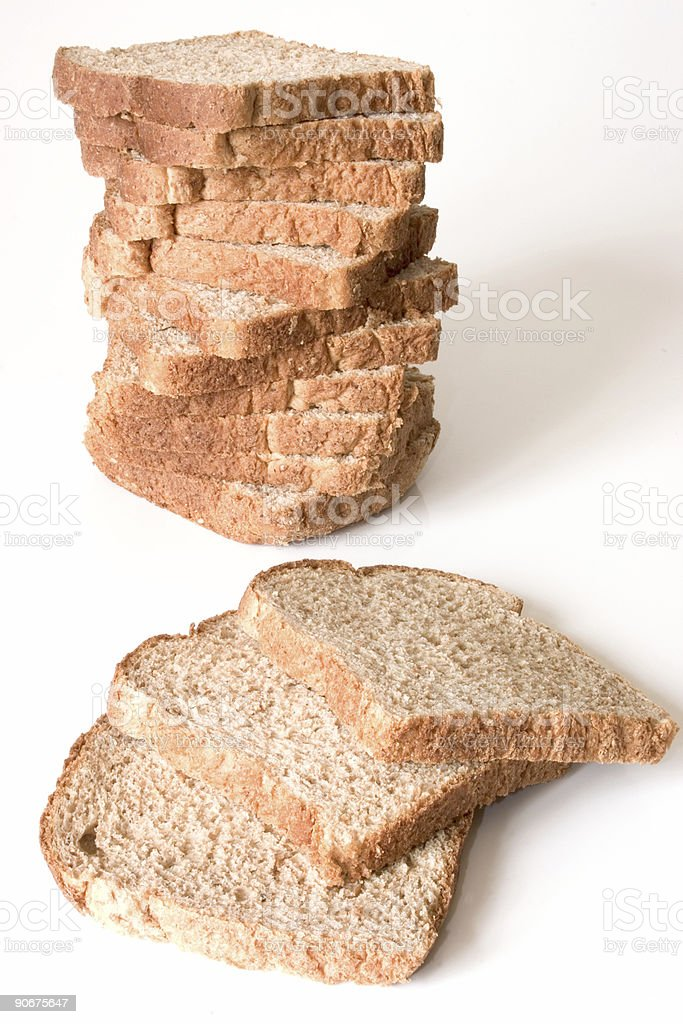 Piled Bread royalty-free stock photo