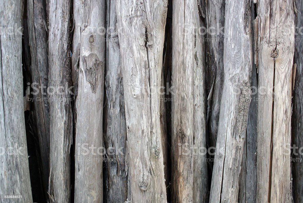 Piles of dry wood royalty-free stock photo