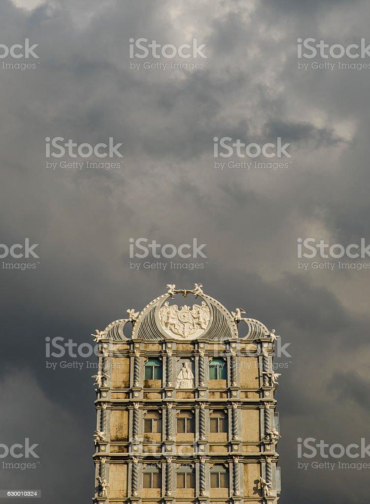 pilgrim center-minor basilica of the holy child-cebu-philippines stock photo