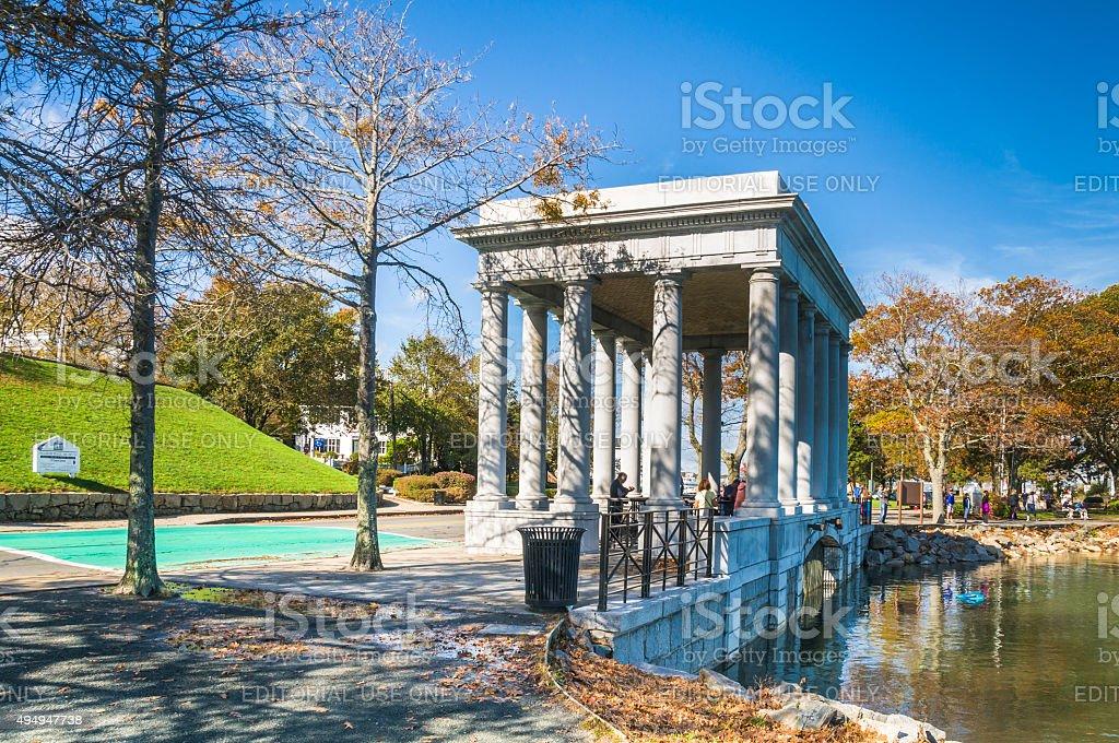 Pilgrim Memorial State Park stock photo