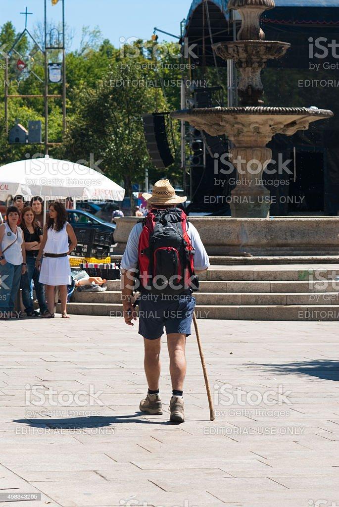Pilgrim stock photo