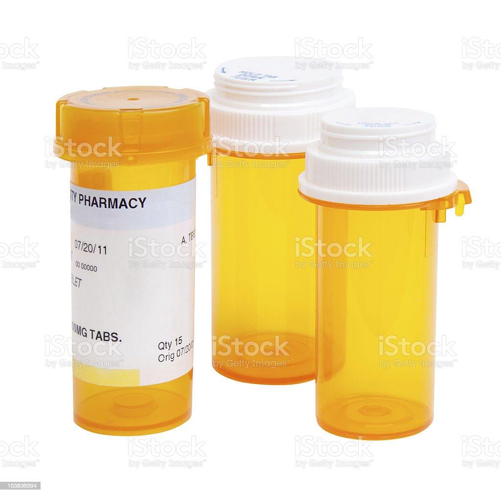 Pill Bottles royalty-free stock photo