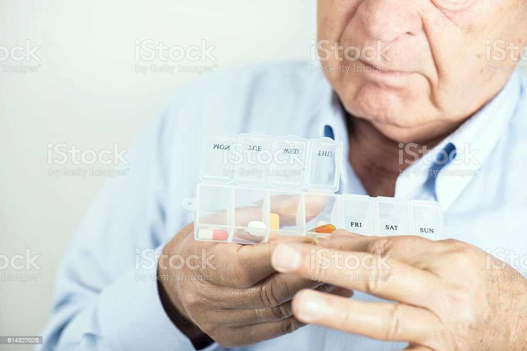 Pill Box stock photo