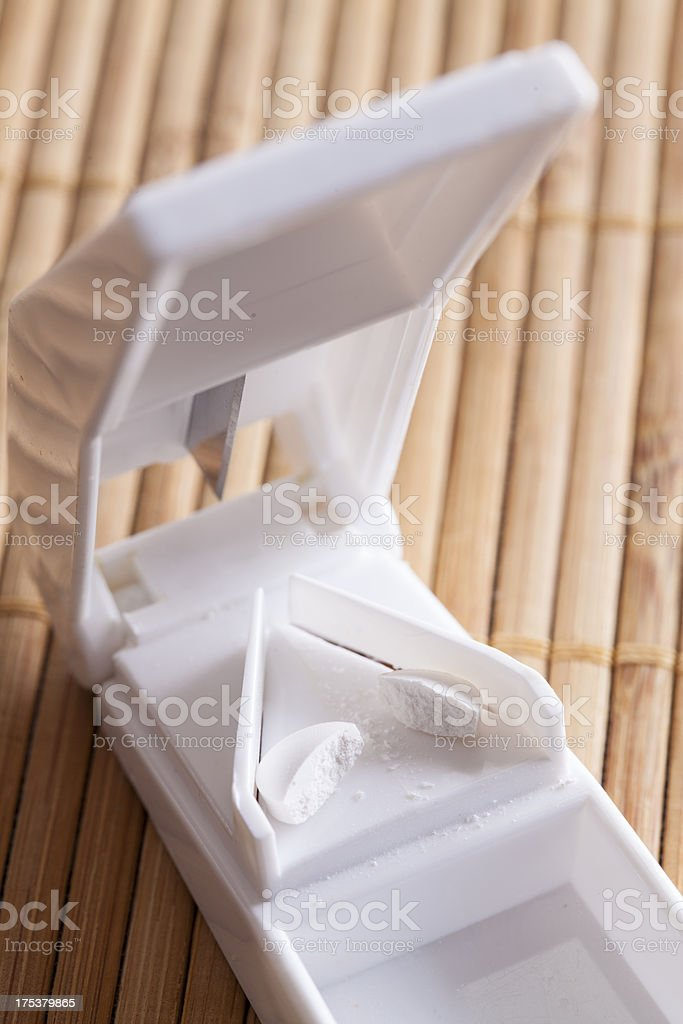 Pill Cutter royalty-free stock photo
