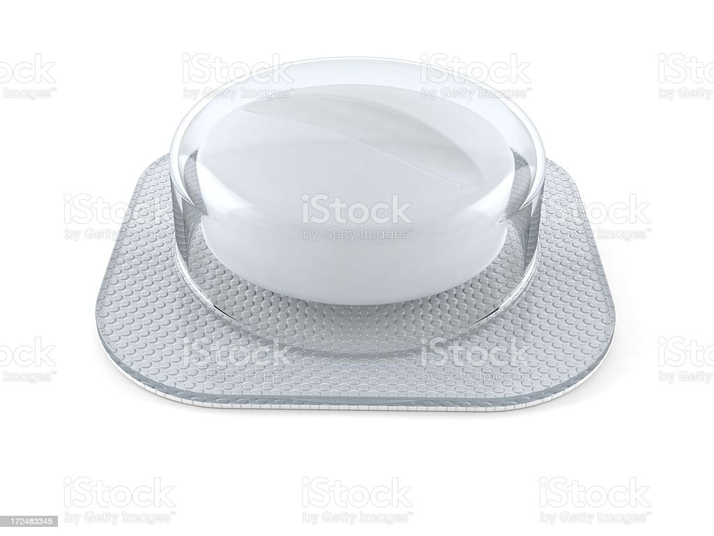 Pill royalty-free stock photo
