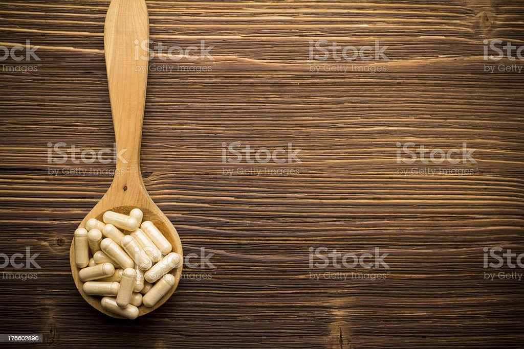 Pill. royalty-free stock photo