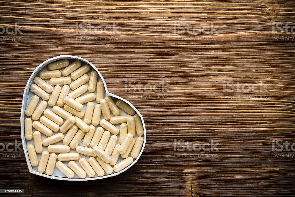 Pill. royalty-free stock photo