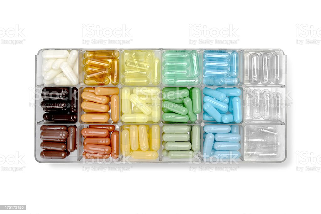 pill samples royalty-free stock photo