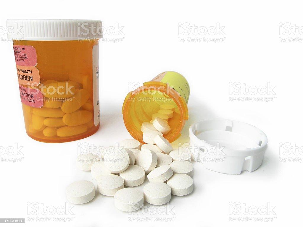 Pill Spill royalty-free stock photo