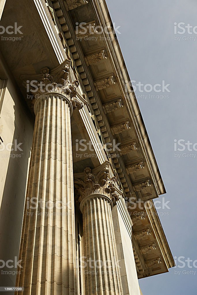 pillar 1 royalty-free stock photo