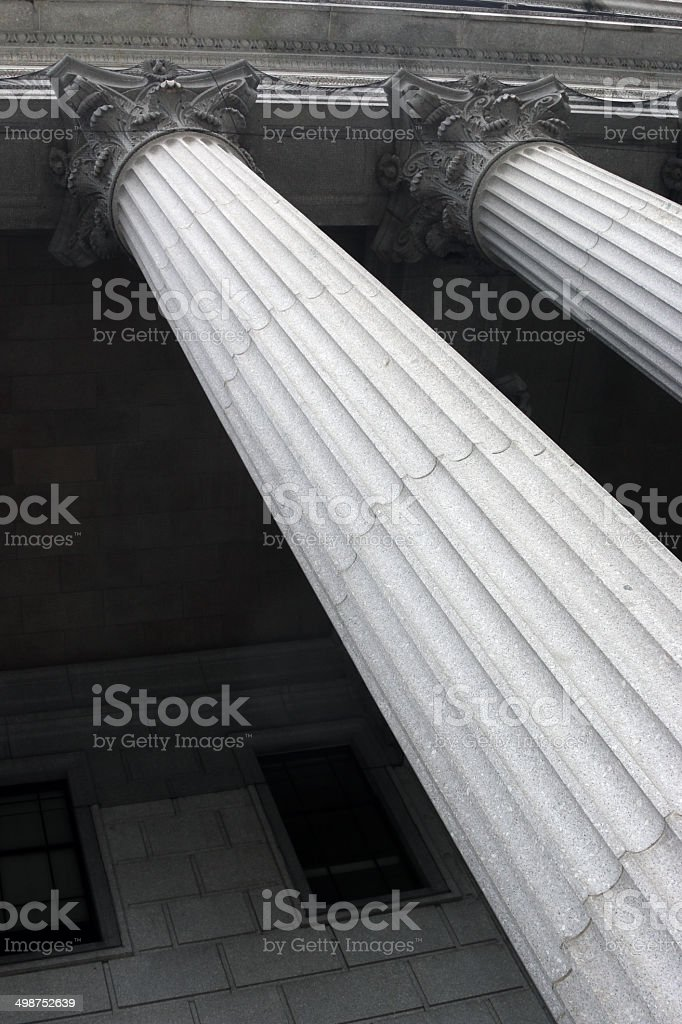 pillar background stock photo