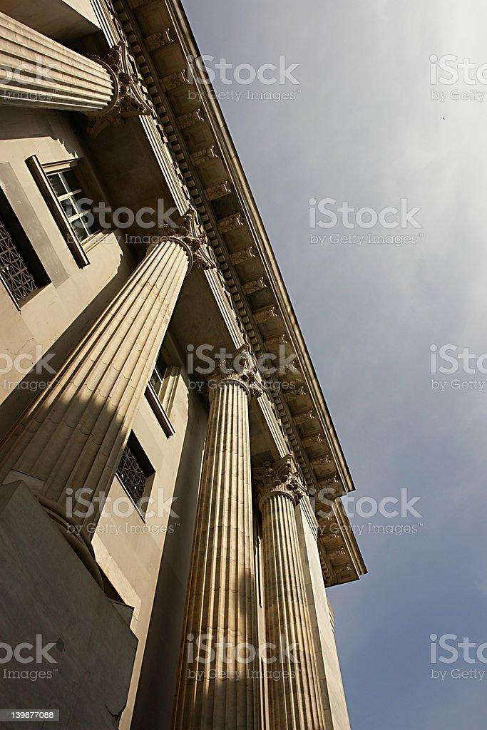 pillar royalty-free stock photo