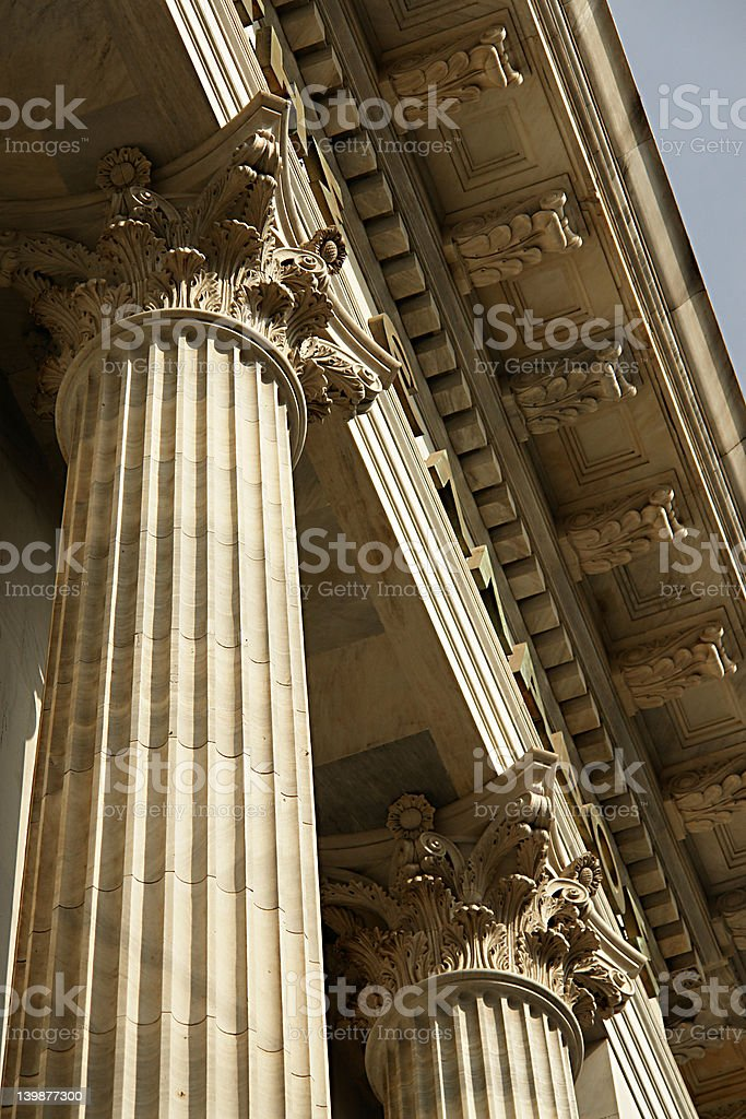 pillar stock photo