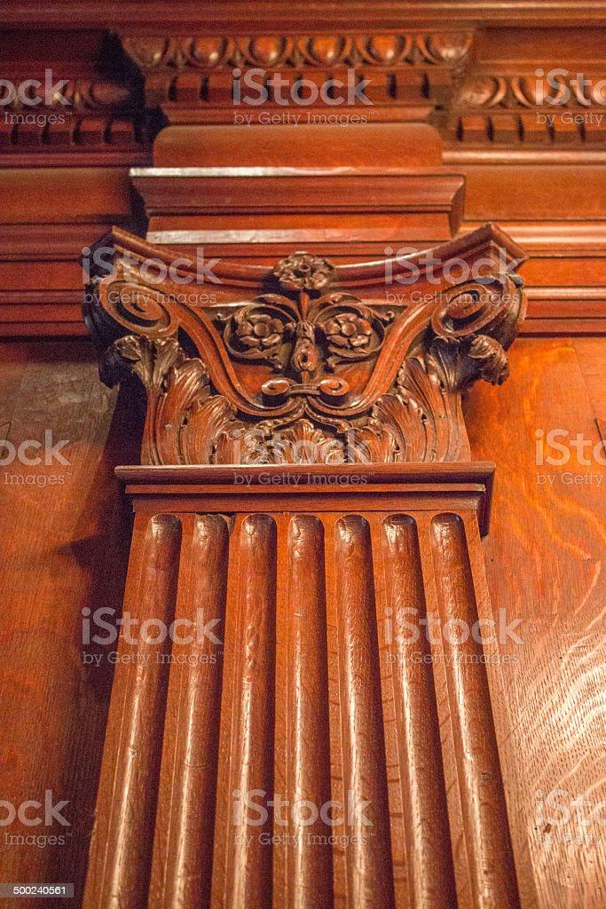 Pillar stock photo