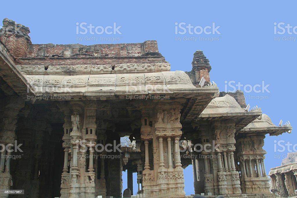 Pillars and Sub-Pillars stock photo