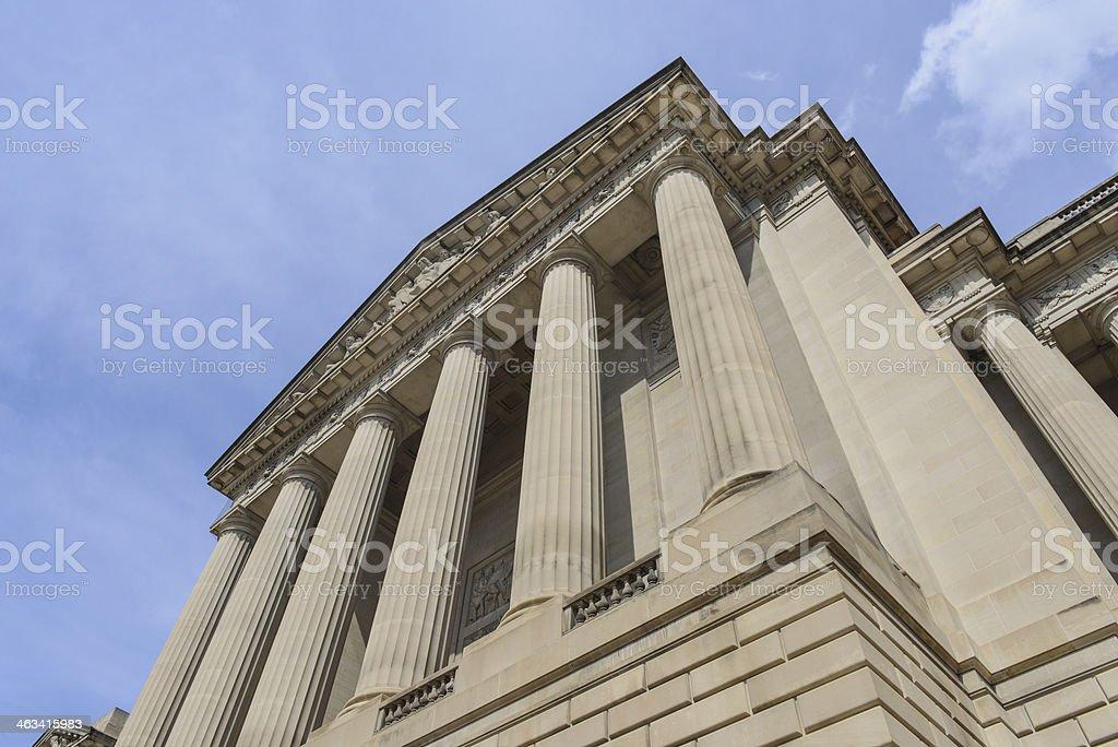 Pillars of Education royalty-free stock photo