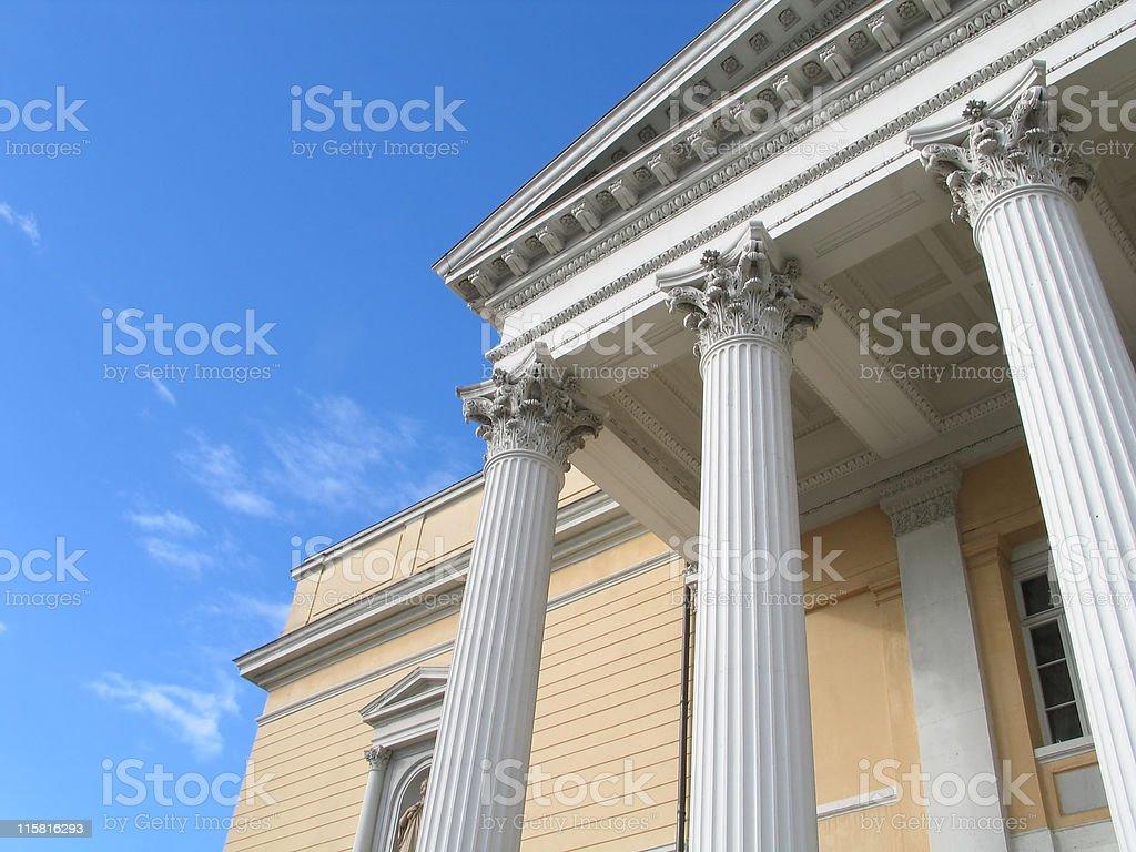 Pillars #3 royalty-free stock photo