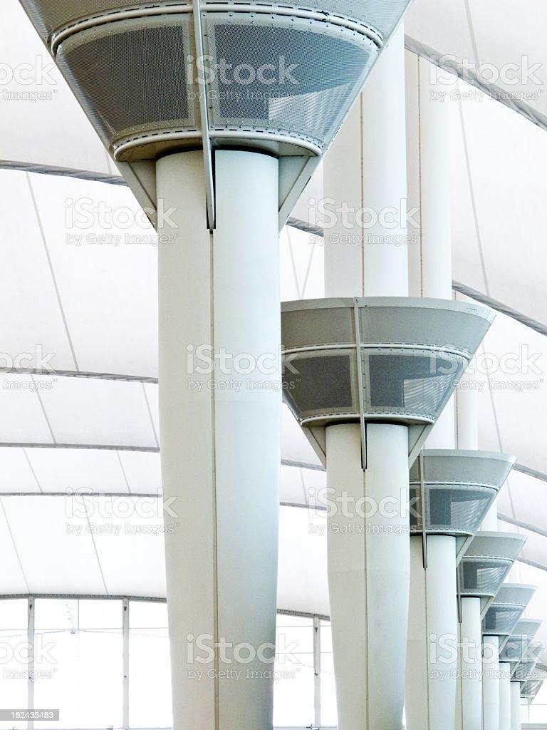 Pillars stock photo