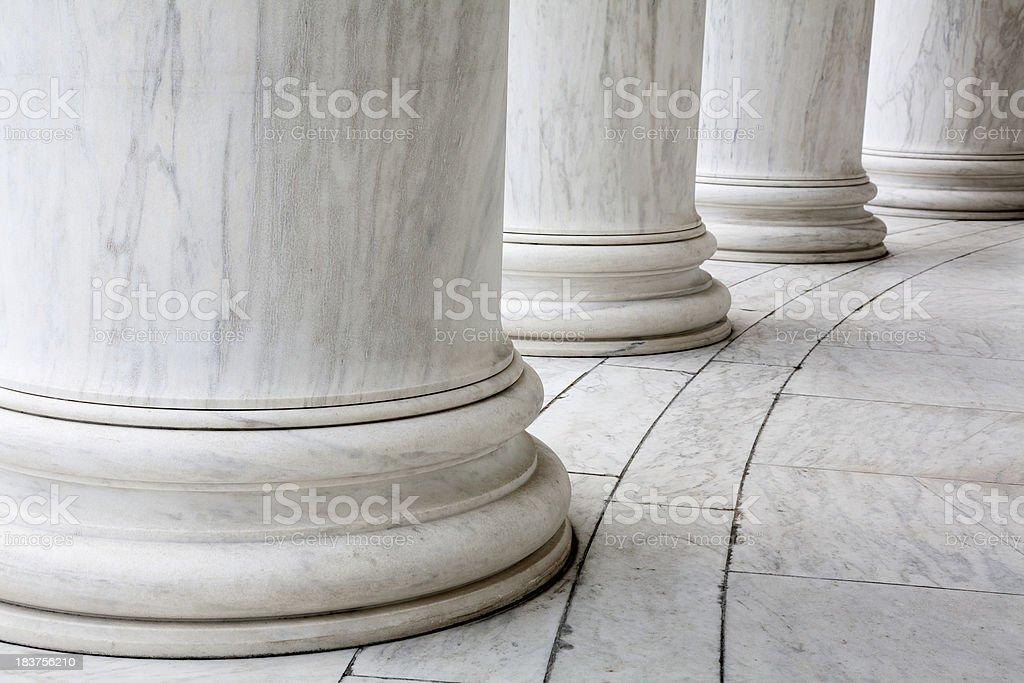Pillars royalty-free stock photo