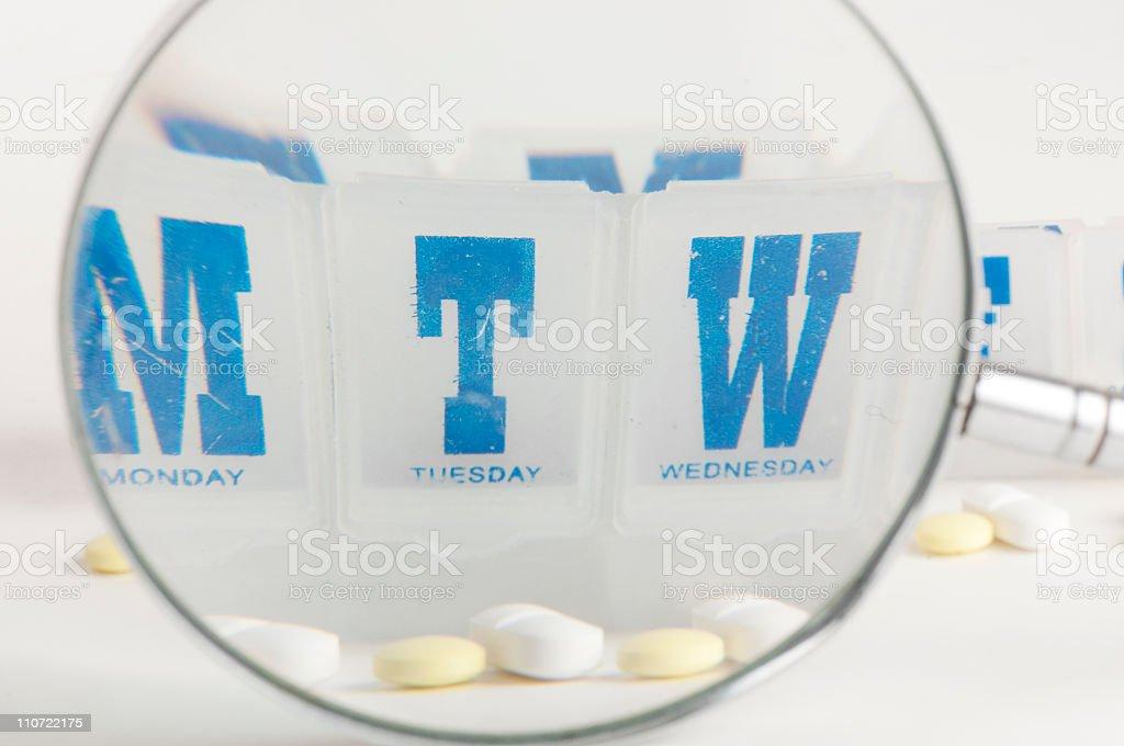 Pillbox stock photo