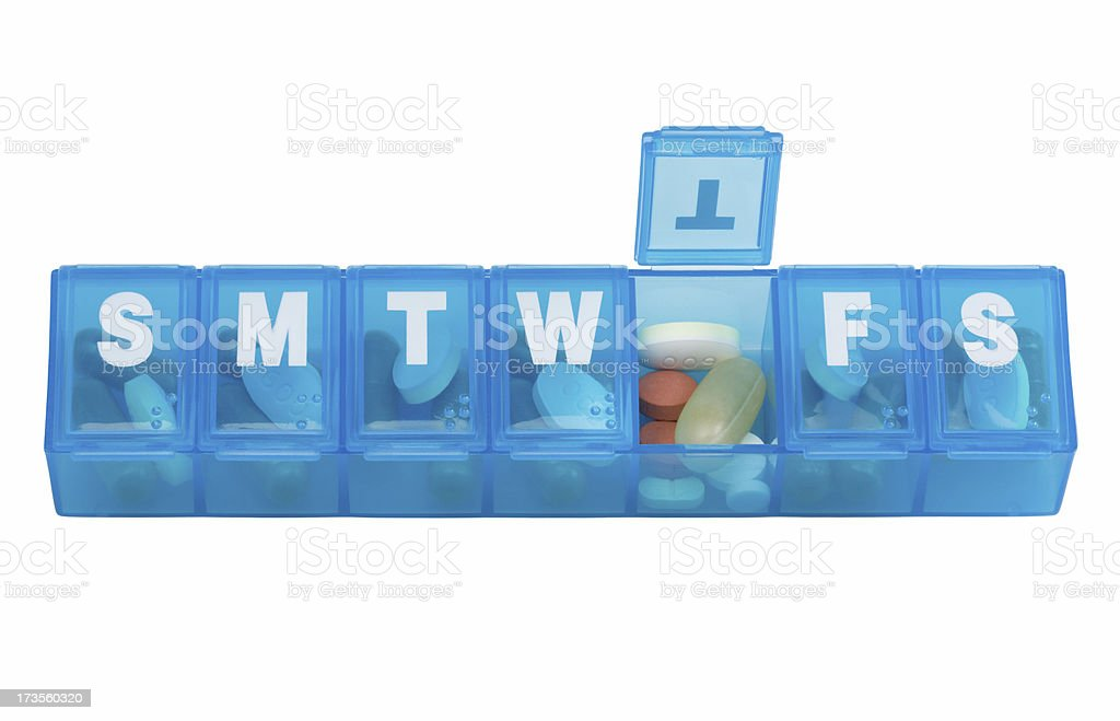 pillbox (XL) stock photo