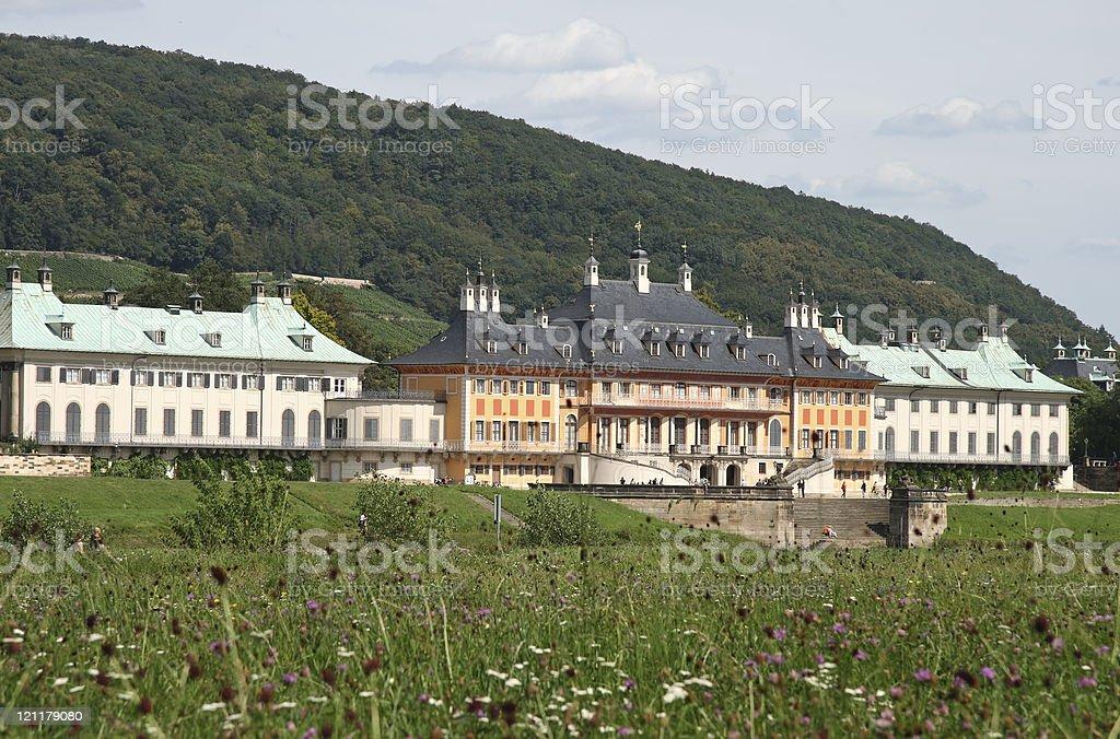 Pillnitz Palace stock photo