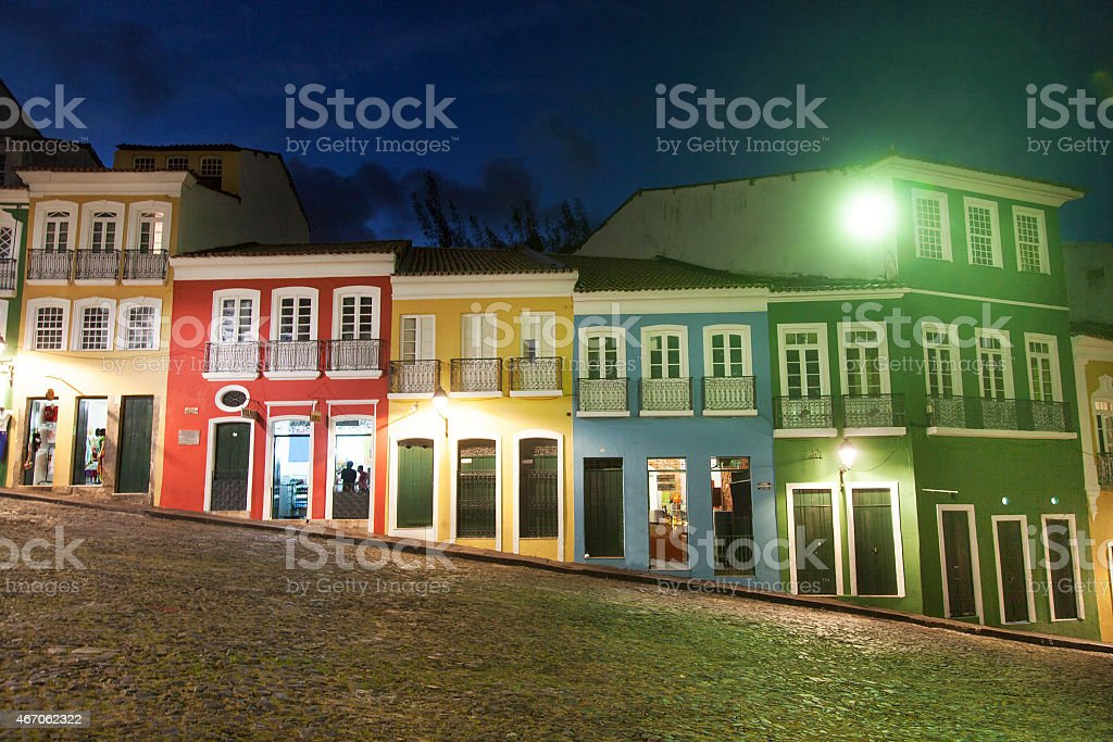 Pelourinho in Salvador, Bahia stock photo